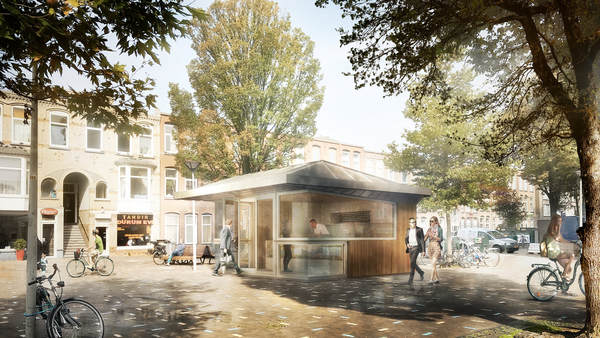 Thumbnail for the project Kiosk Paul Krugerplein